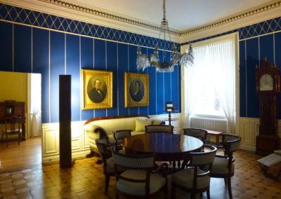 Schloss Ahrensburg Blaues Wohnzimmer