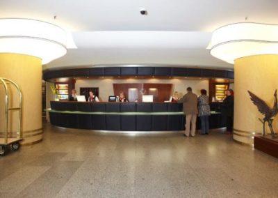 rezeption hotel neptun warnemuende deutschland